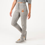 Princeton Unisex Sweatpants With Feet Grey - American Collegiate