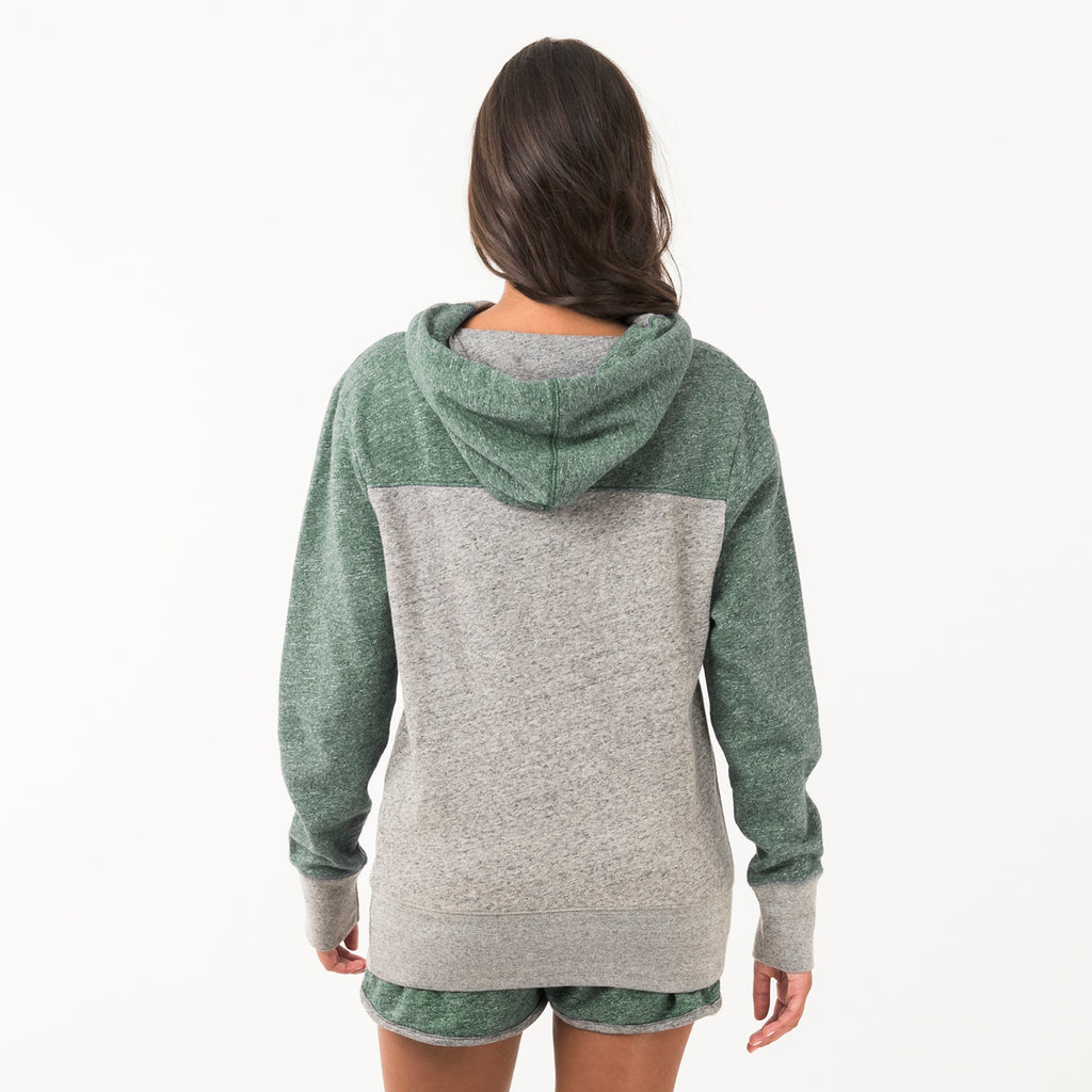 Baylor Womens Hoodie Hunter Green