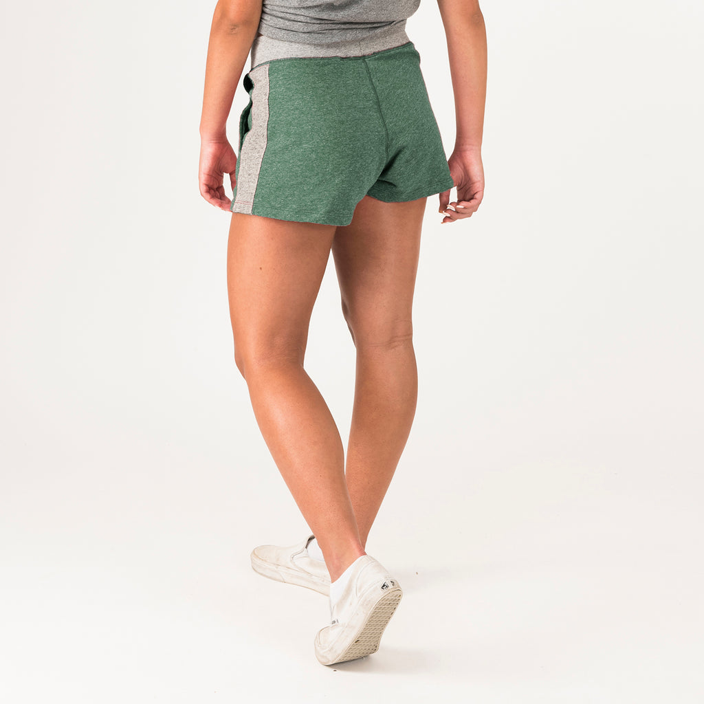Baylor Womens Lounge Shorts Hunter