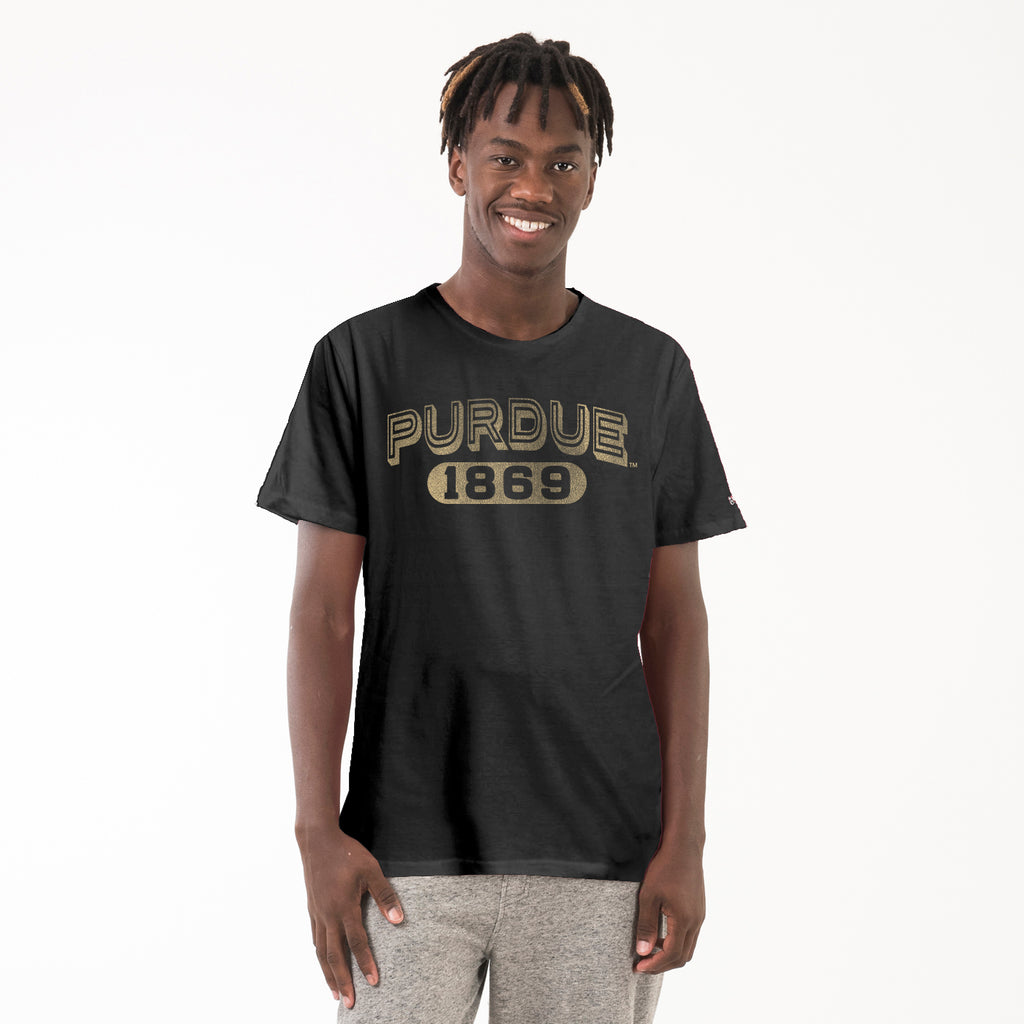 ac core Purdue Mens Essential Crew Neck Tee