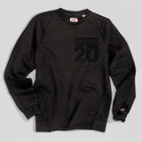 Indiana Heavyweight Crewneck Sweat True Black