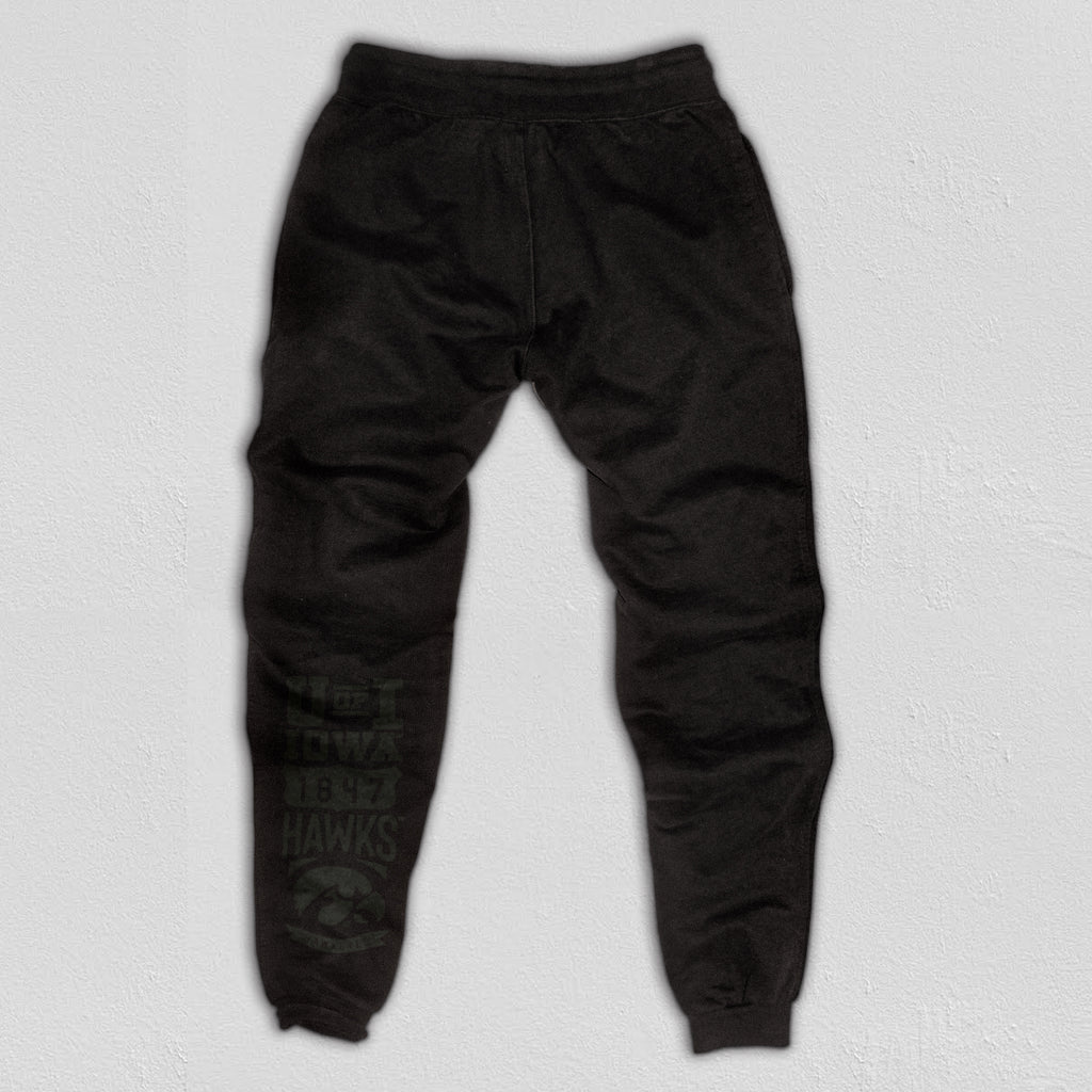 Indiana Heavyweight Sweatpants True Black