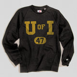 Iowa Heavyweight Crewneck Sweat True Black