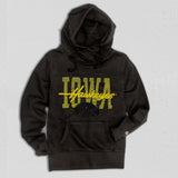 Iowa Women's Heavyweight Hoodie True Black