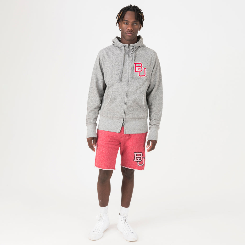 Boston Mens Go-To Full Zip Hoodie