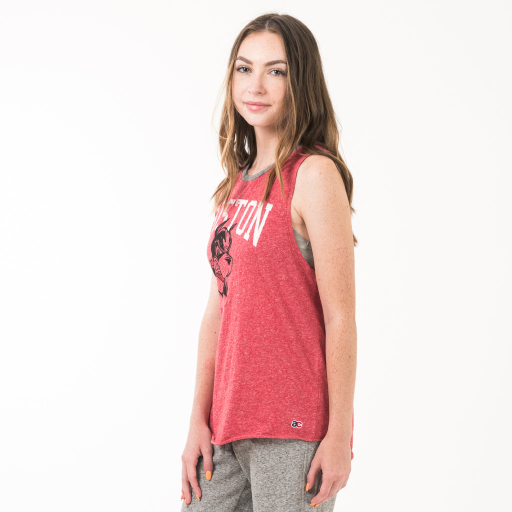 Boston Womens Club Tank True Red