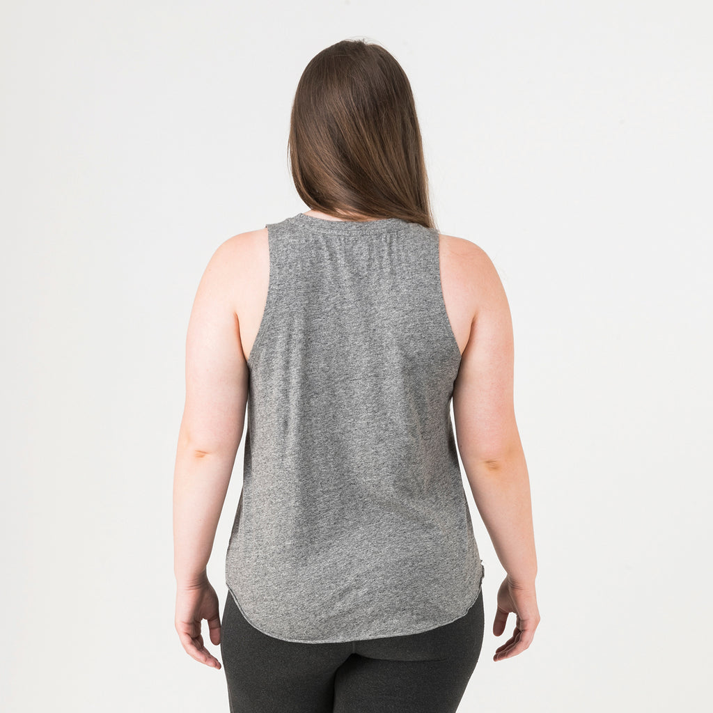 Boston Womens Club Tank Grey