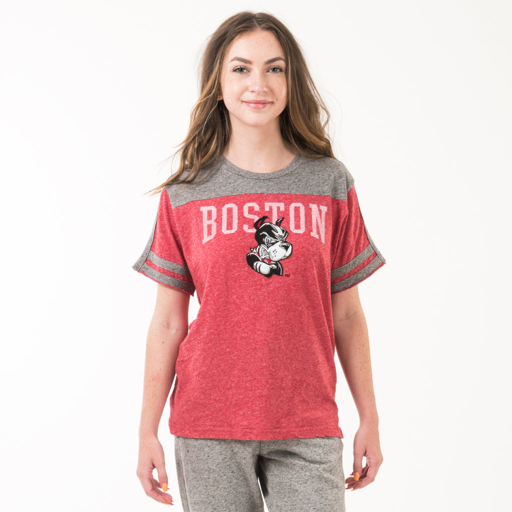 Boston Neck Tee Shirts True Red