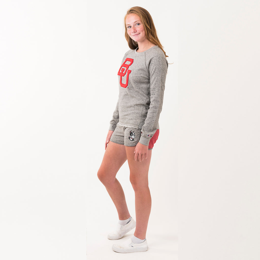 Boston Sweatshirt Grey