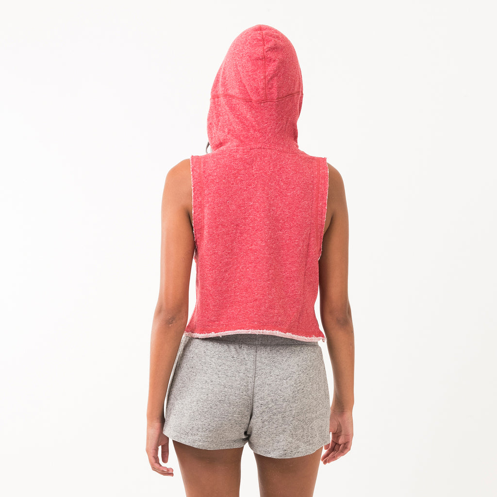 Indiana Womens Cropped Hoodie