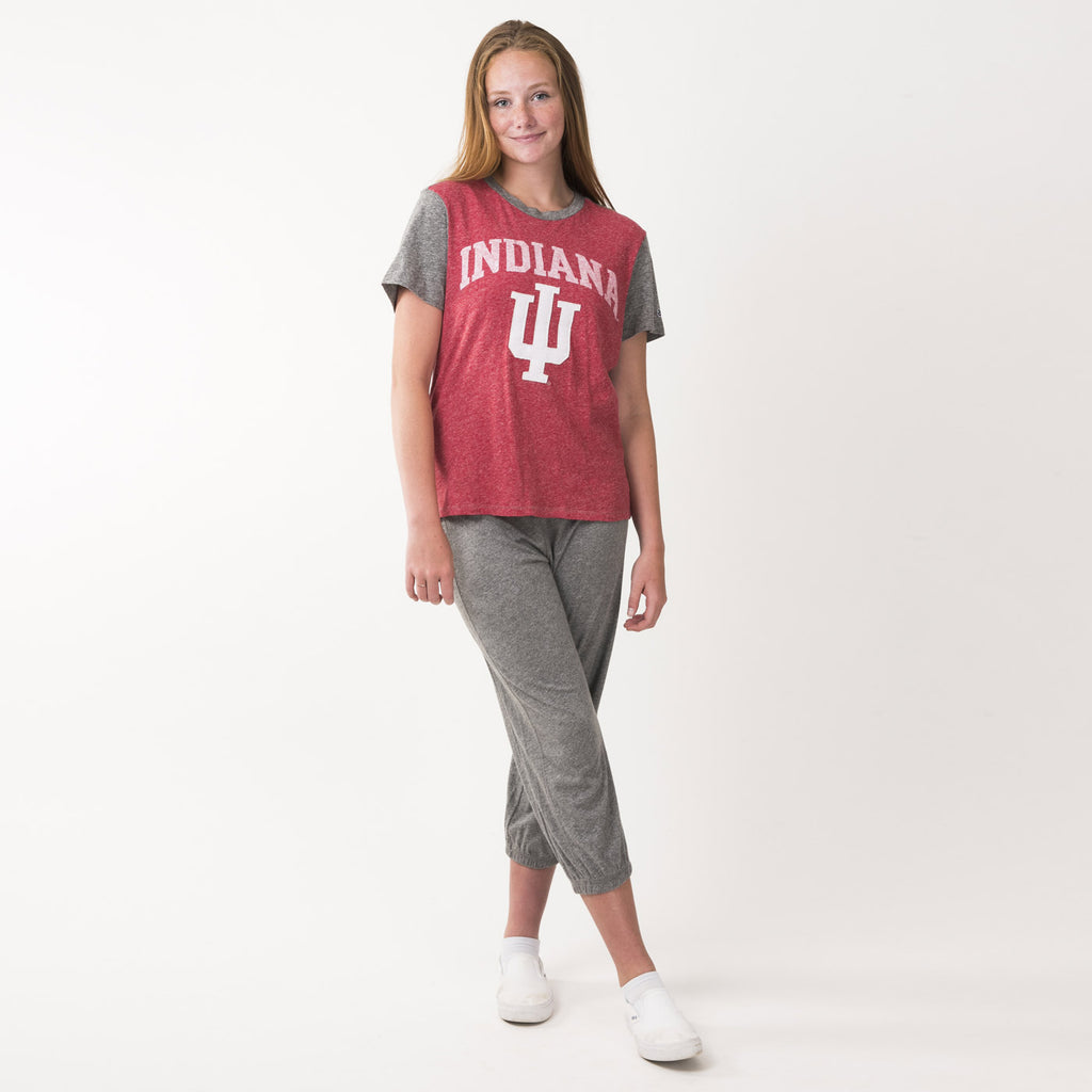 Indiana Womens Everyday Crew Neck Tee