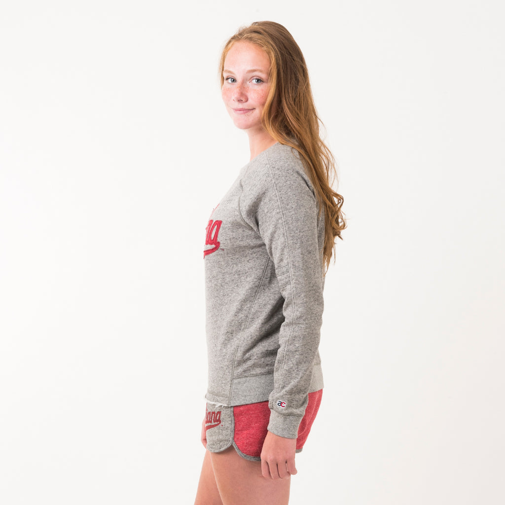 Indiana Womens Signature Crewneck Sweatshirt