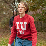 Indiana Heavyweight Crewneck Sweat True Red