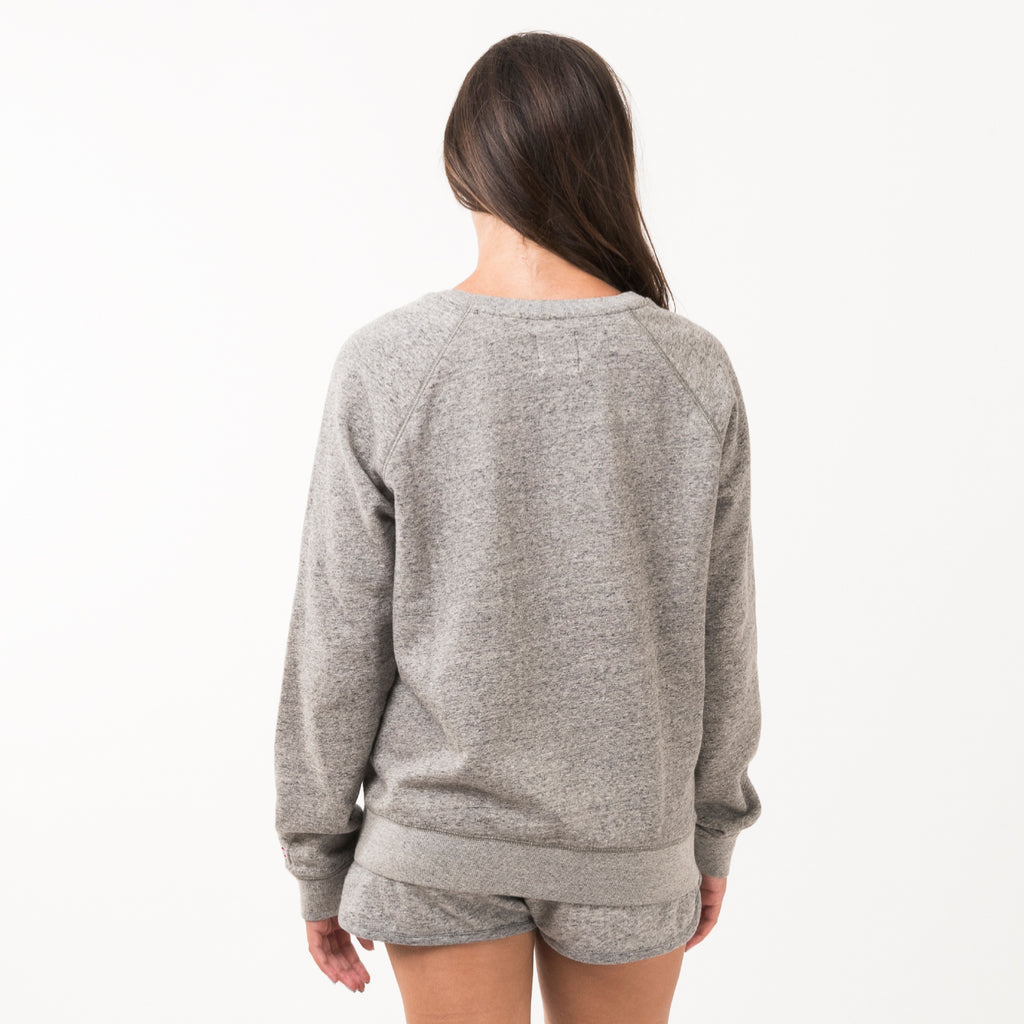 Iowa Womens Signature Crewneck Sweatshirt - Grey