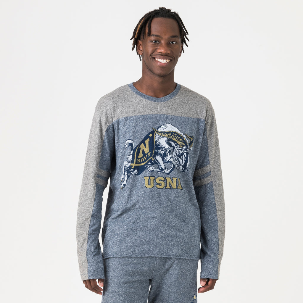Navy Mens Everyday Long Sleeve Tee