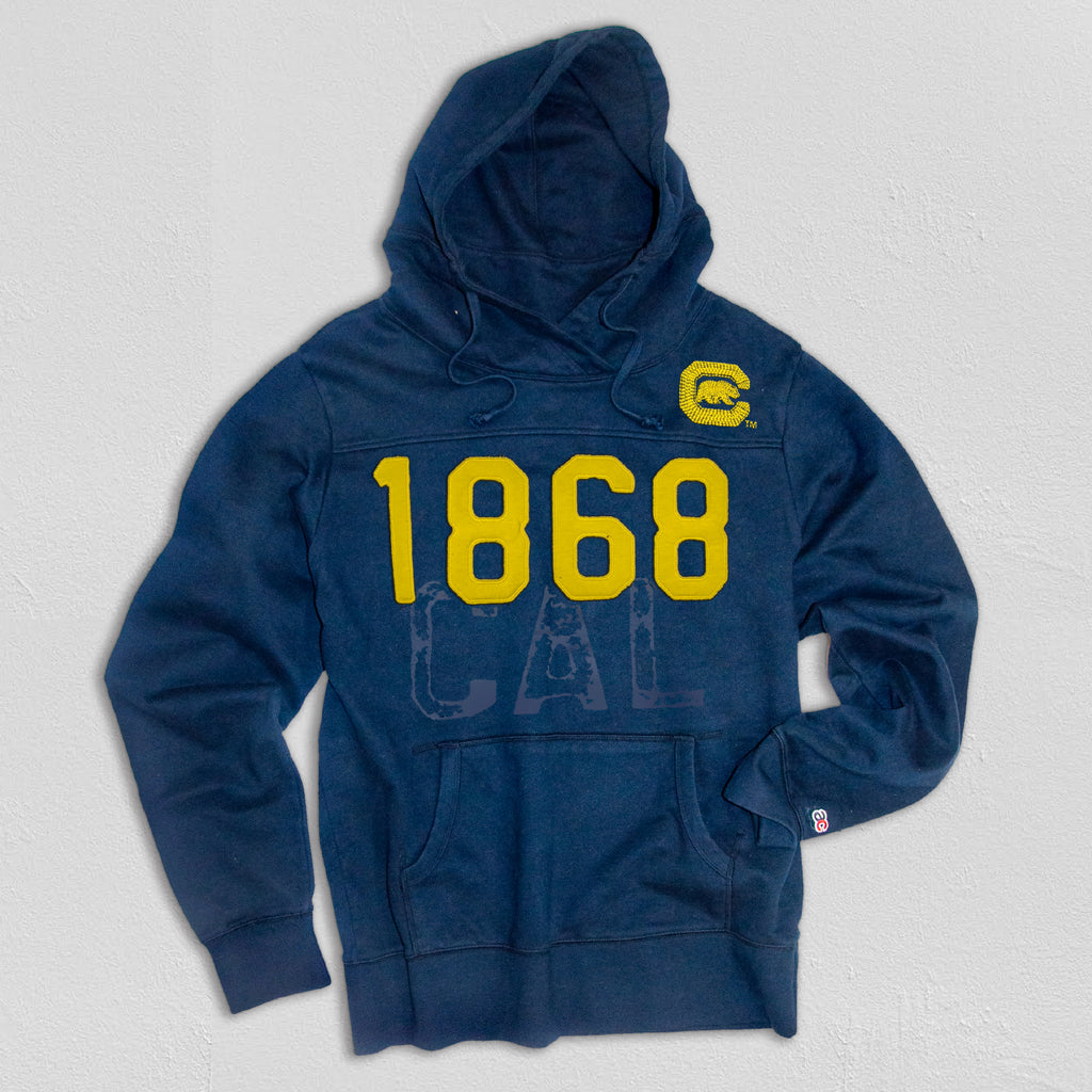 UC Berkeley Men's Heavyweight Hoodie Navy
