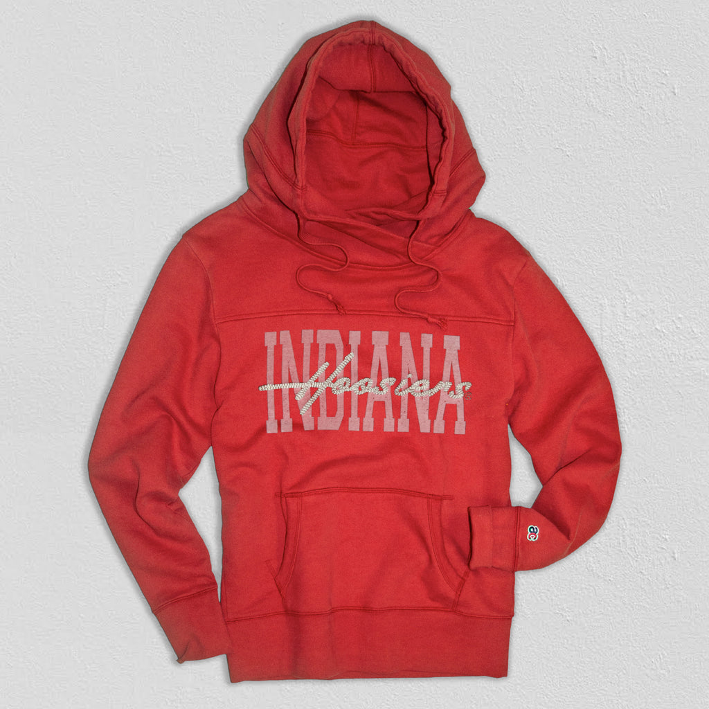 Indiana Women's Heavyweight Hoodie True Red