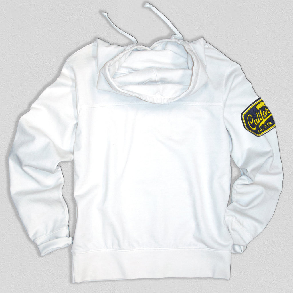 UC Berkeley Men's Heavyweight Hoodie White