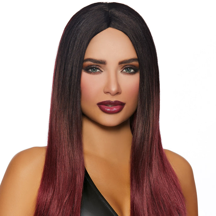 Long Straight Ombré Wig