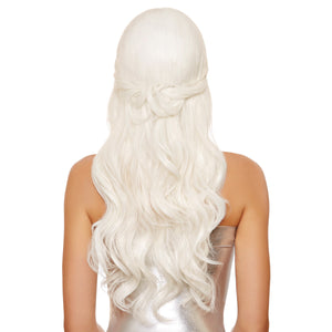 Long Wavy Wig with Back Twist