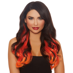Long Wavy Layered Three-Piece Hair Extensions
