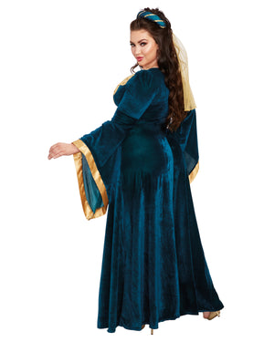 Plus Size Medieval Maiden