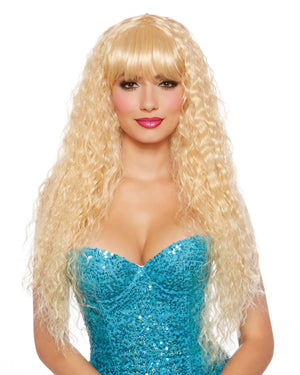 Extra Long Beach Wave Wig Wig Dreamgirl Costume