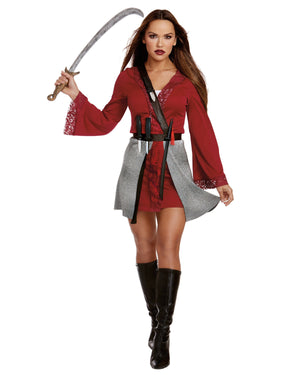 Majestic Warrior Women's Costume Dreamgirl Costume