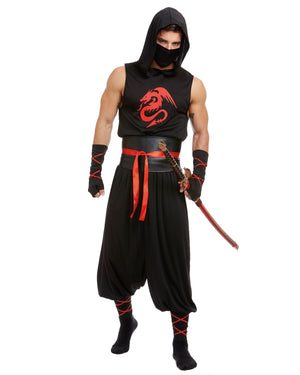 Men's Ninja Men's Costume Dreamgirl Costume