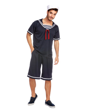 Men's Seaside Sailor Men's Costume Dreamgirl Costume