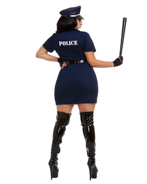 Plus Size Officer Pat U. Down Women's Costume Dreamgirl Costume