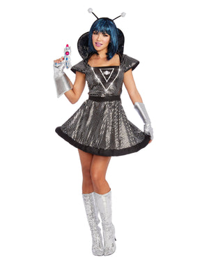 Spaced Out Women's Costume Dreamgirl Costume