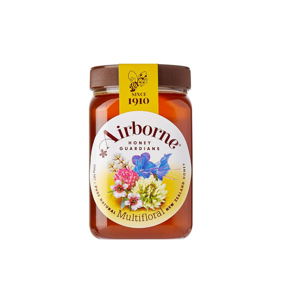 Airborne Multi Floral Honey 500G