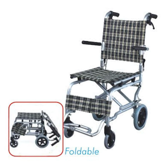 MO9003L-41 | Aluminium Light Weight Wheelchair 8Kg - Capacity 75Kg
