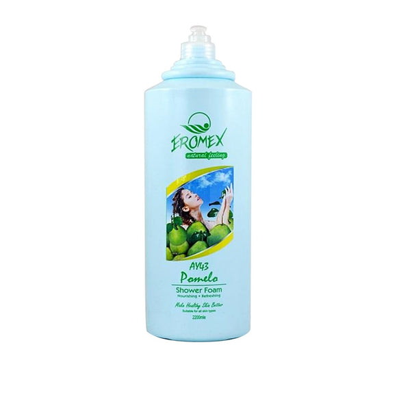 Eromex Goat's Milk 3 In 1 Shower Foam 2.2L - Pomelo (AY43)