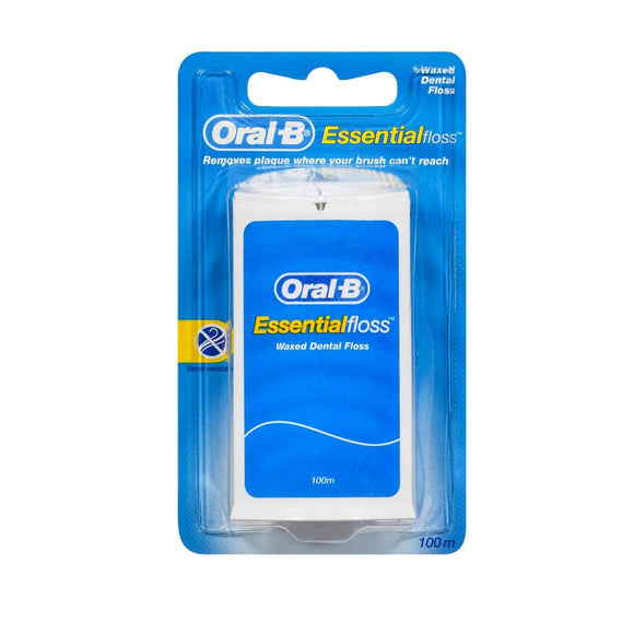 Oral B Essential Floss Mint Waxed 100M