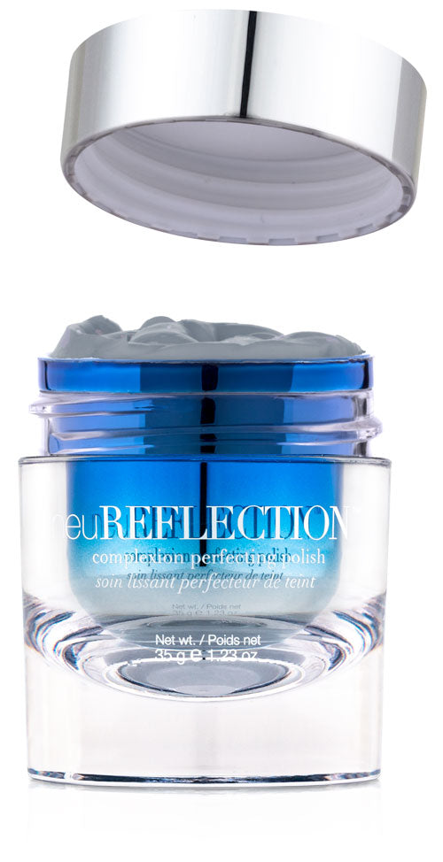 Container of neuReflection with lid removed