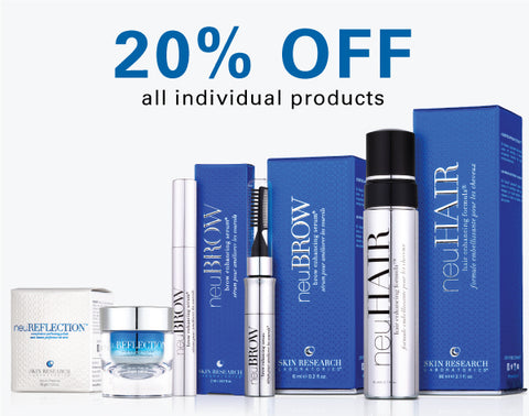 20% off all individual products on Black Friday 2018.