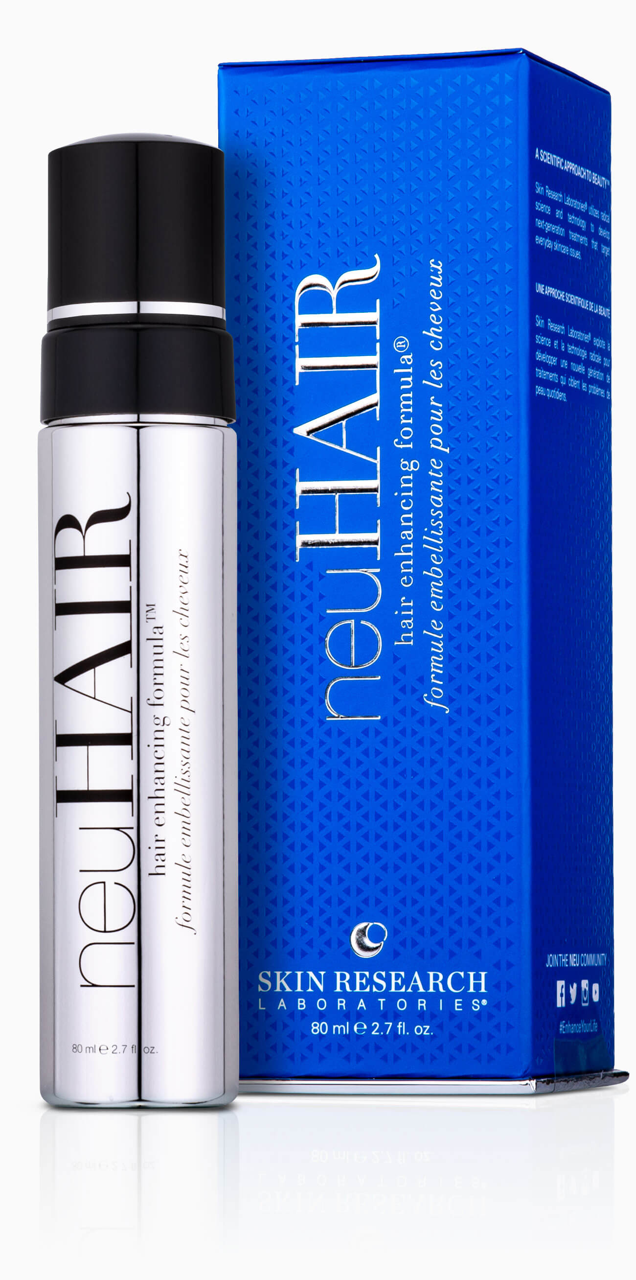 neuHAIR hair enhancing formula® chrome component