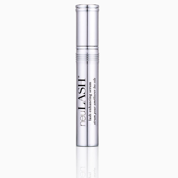 neuLASH® lash enhancing serum main chrome component with lid on.