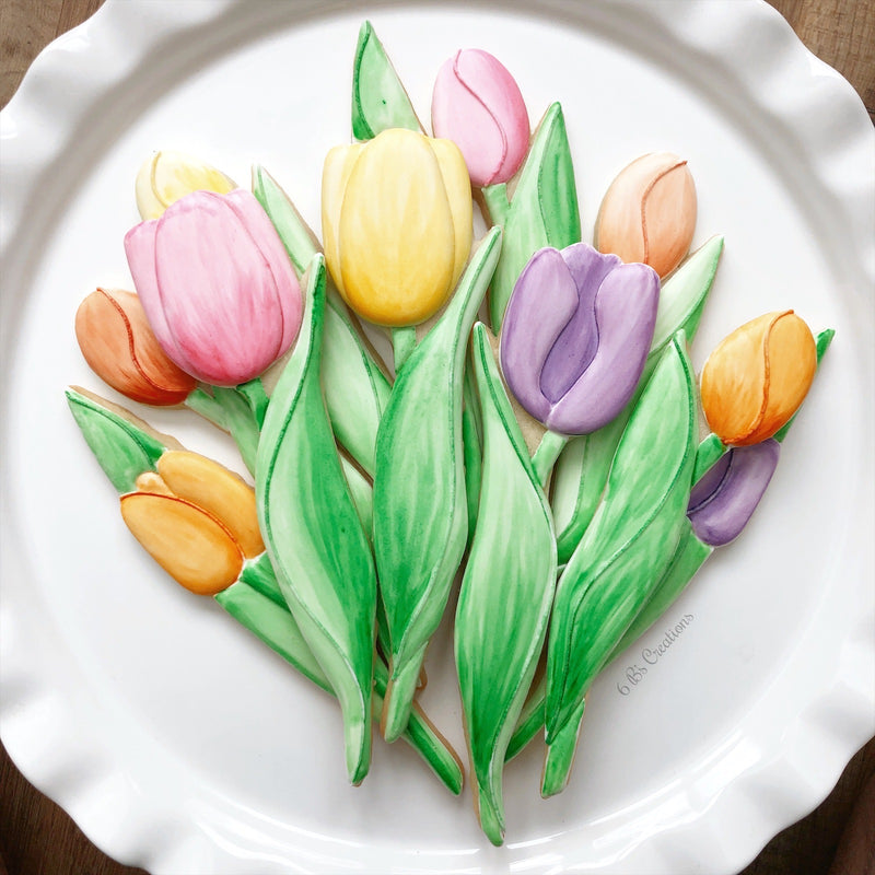 Online Beginners Tulip Painting Class