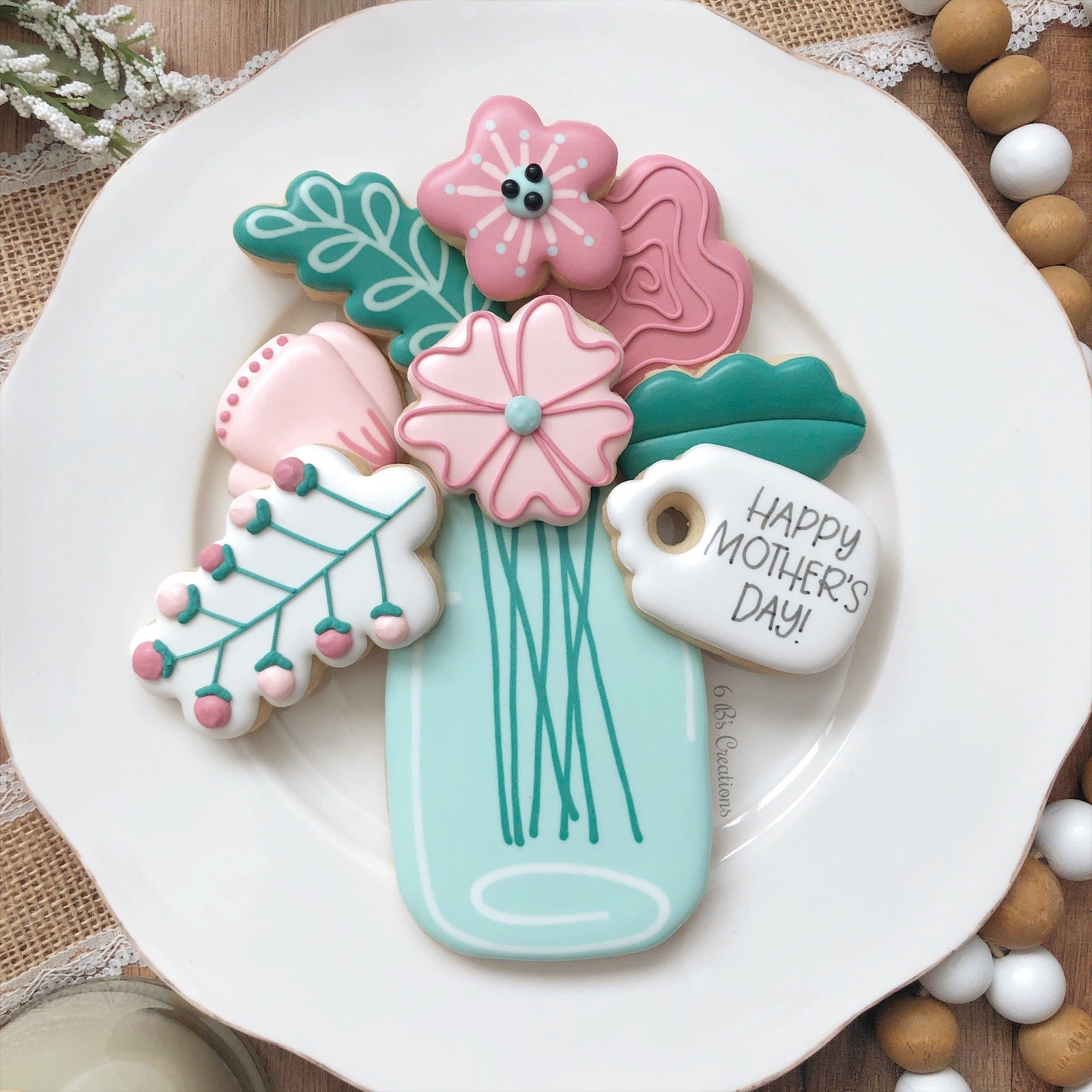 Mother S Day Cookie Kits Pick Up Thursday May 7th 4 00 5 00 Pm 6 B S Creations