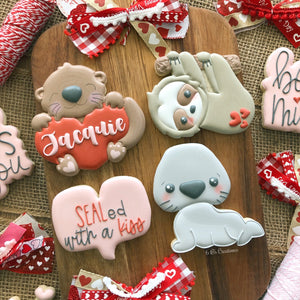 Valentine's Day Cookies and Packaging Class