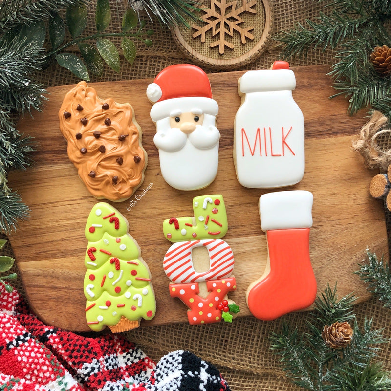 Santa Cookie Kits - Pick up Tuesday, December 22nd - 5:00-6:00 PM