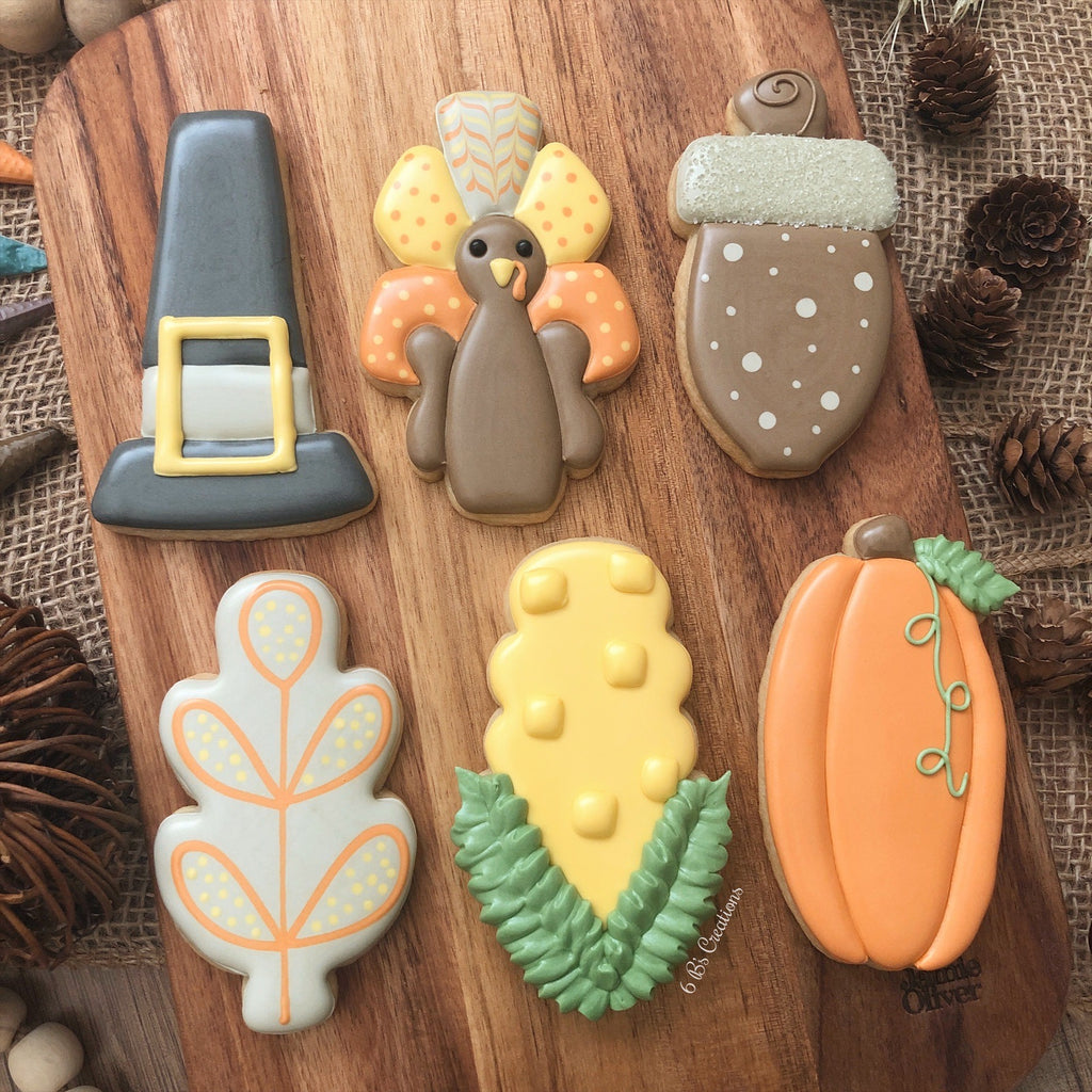 Thanksgiving Cookie Kits - Pick up Tuesday, November 24th - 1:00-2:00 PM
