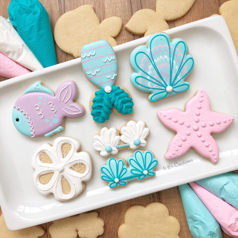 PRIVATE Mermaid Cookie Kits