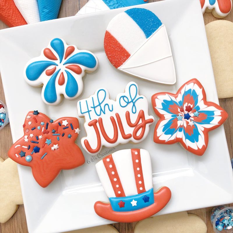 4th of July Cookie Kits - Pick up Thursday, July 2nd - 12:00-1:00 PM