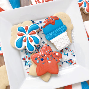 4th of July Cookie Kits - Pick up Friday, July 3rd - 4:00 - 5:00 PM
