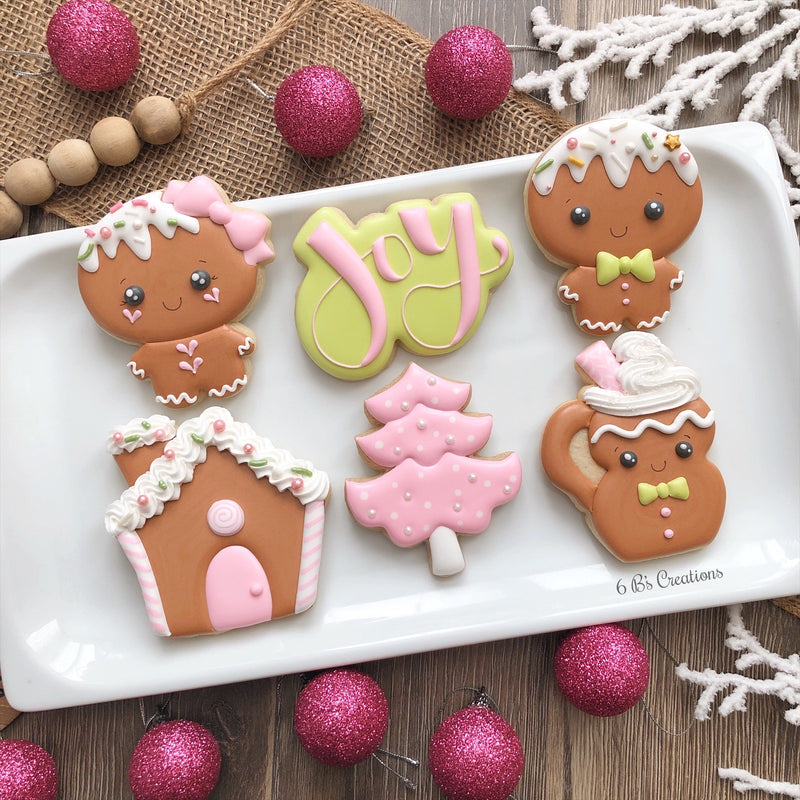 Gingerbread Beginner Decorating Class - Wednesday, November 13th - 7:00-9:00 PM