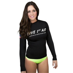 Dive 1st Aid Long Sleeve Rash Guard